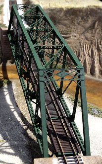 150ft. HO scale Punchplate Bridge Kit.