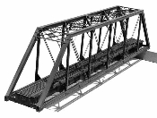 150ft. HO scale Truss Bridge Kit.