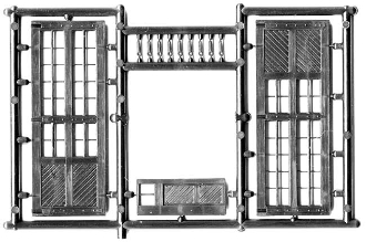 Large Shop Doors (3 pair)