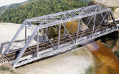 150ft. HO scale Gusseted Bridge Kit.